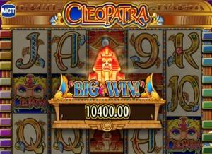 cleopatra slot wins